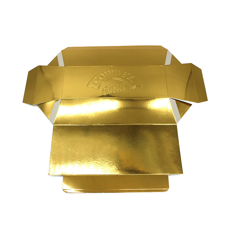 Cheap Gold Card Paper Special Chocolate Packaging Box
