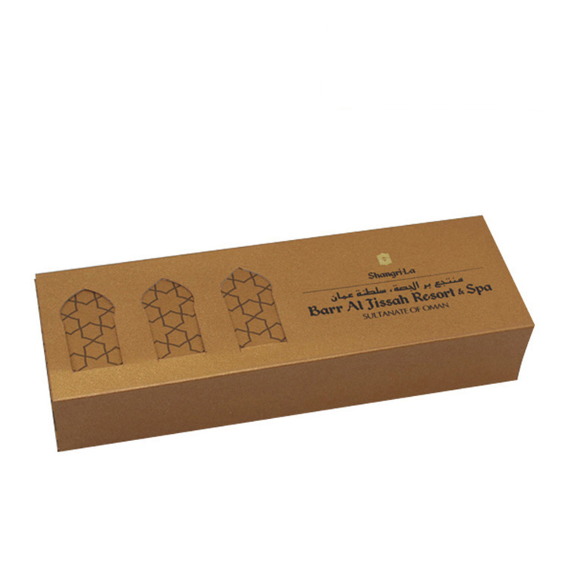 Elegant With Drawer Cardboard Brown Kraft Chocolate Box