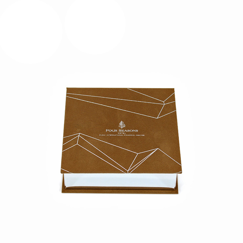 Brown Paper Gift Velvet Chocolate Cavity Packaging Boxes