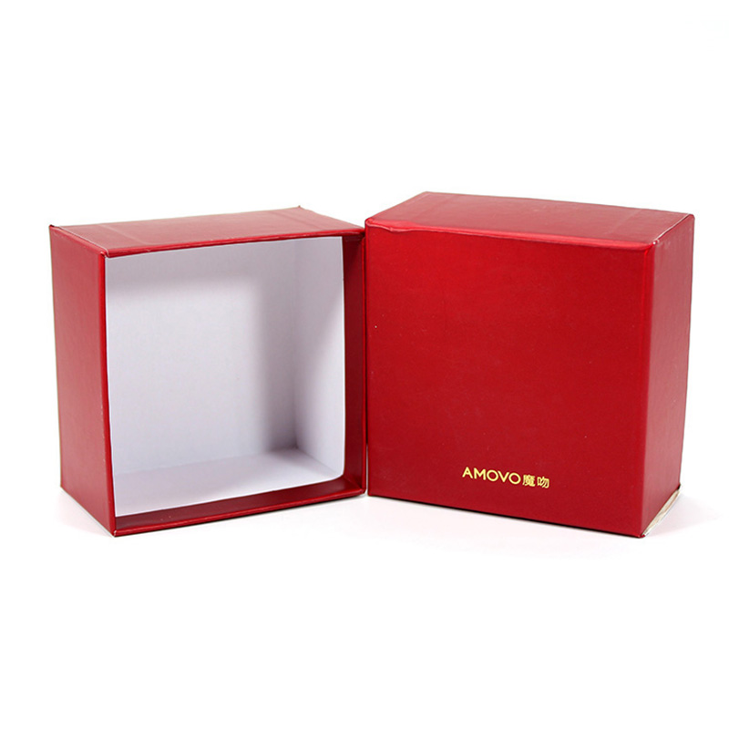 Handmade Custom Wedding Gift Red Paper Box Packaging For Chocolate