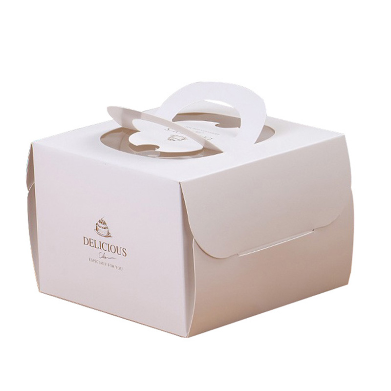 Accept Custom Folding Paper Gift Takeaway Birthday Cake Packing Box