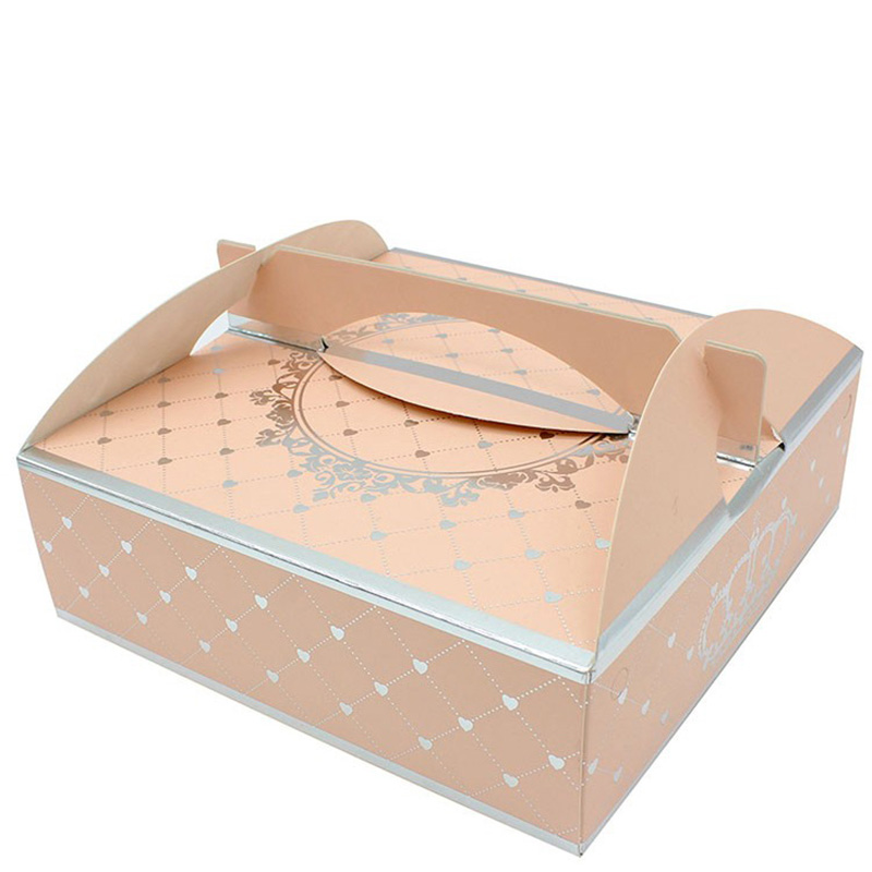 Wholesale Wedding Favor Pink Pop Cake Gift Box Packaging