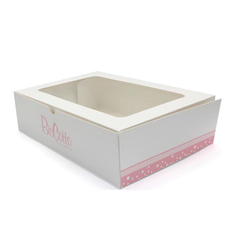Whit Wedding Food Grade White Paper Cake Box Packaging