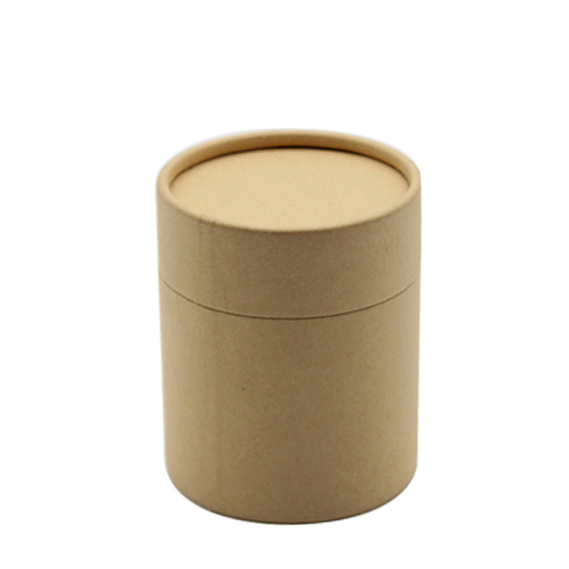 Chinese Supplier Cylinder Cardboard Paper Tea Packaging Box