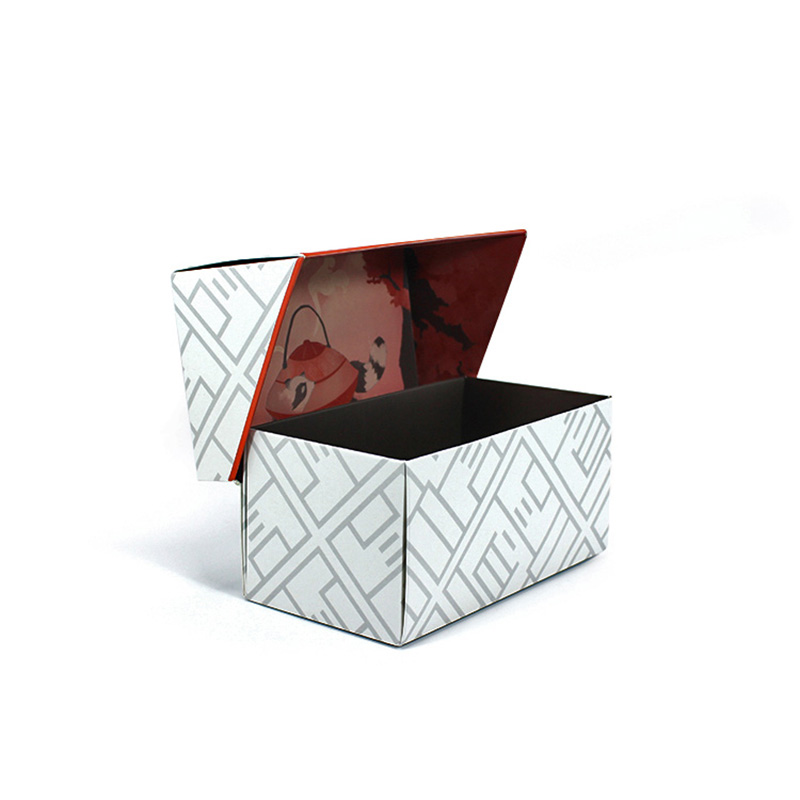 Customized Folding English Paper Storage Tea Packing Box
