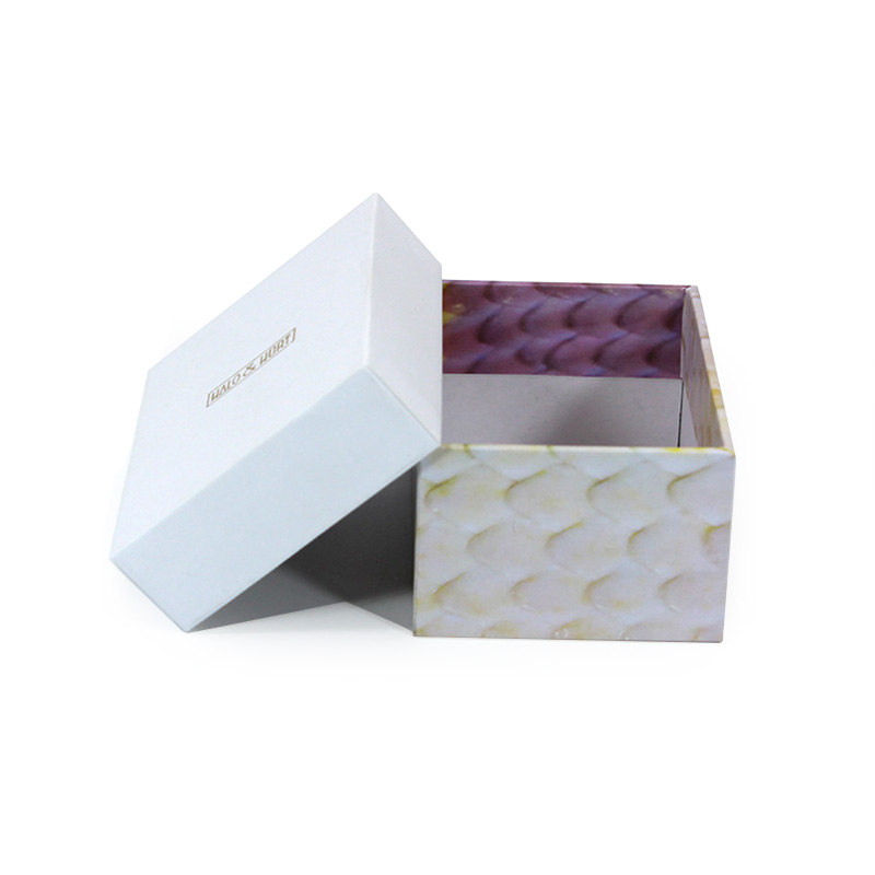 Eco Friendly Creative Sample Packing For Tea Box White