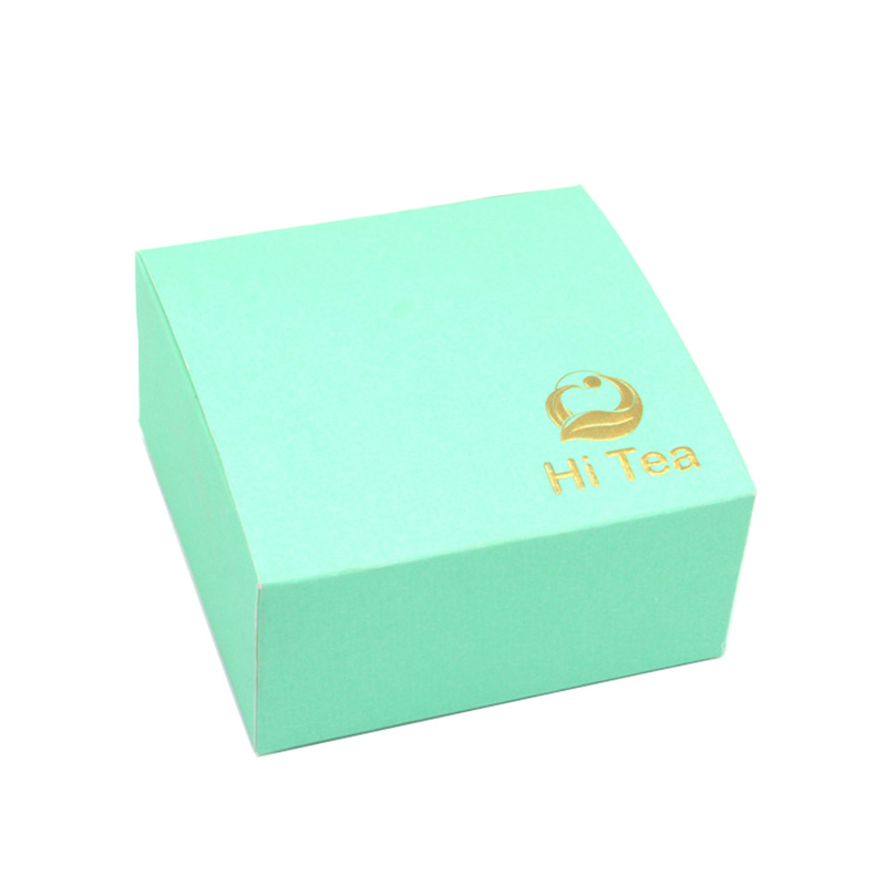 Luxury Chinese Green Gift Paper For Tea Box Packaging