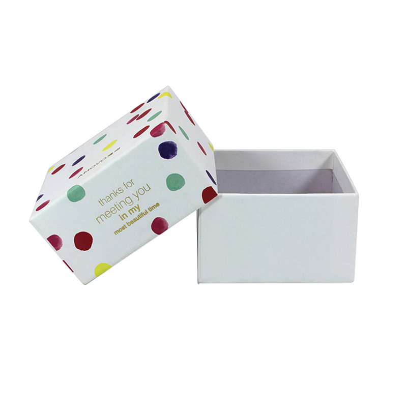 Unique Chinese White Paper Gift Storage Tea Package Box