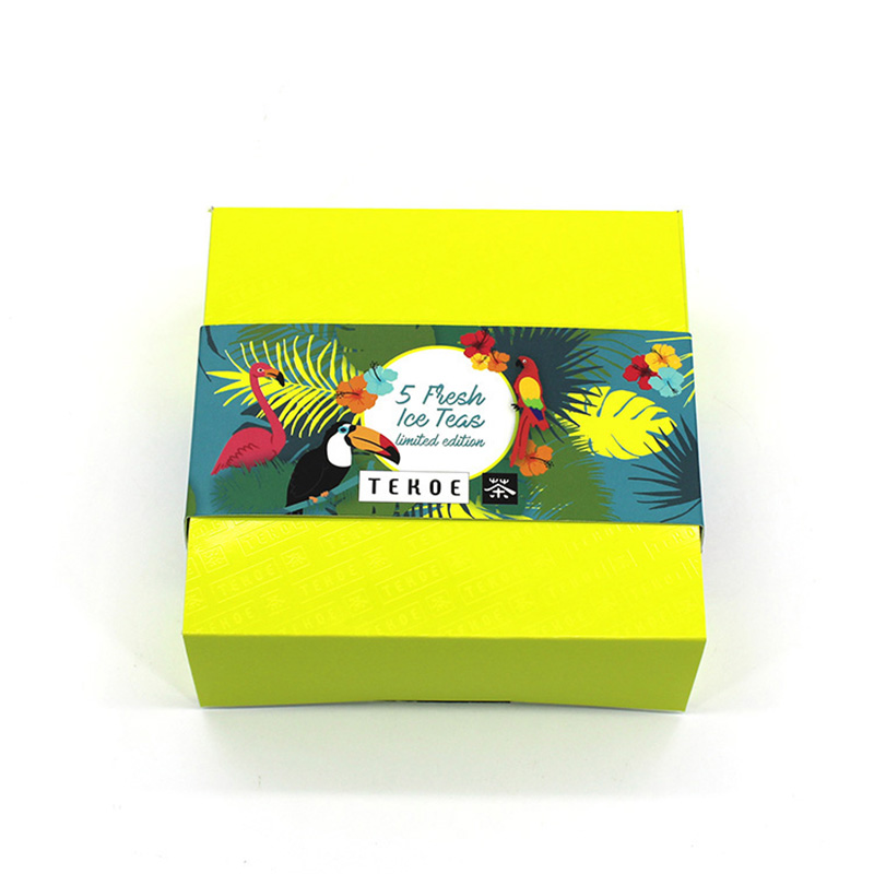 Wholesale Foldable Design Storage Tea Sample Packaging