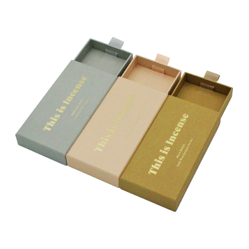 Small Display Sliding Drawer Sweet Candy Packaging Box