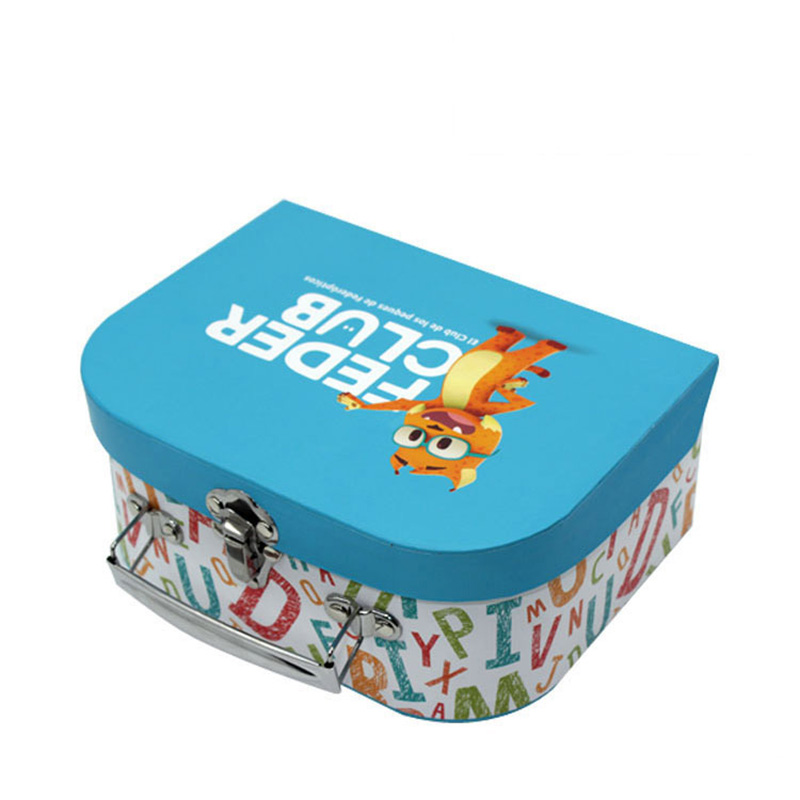 Wholesales Luxurious Cartoon Paper Turkish Suitcase Candy Box