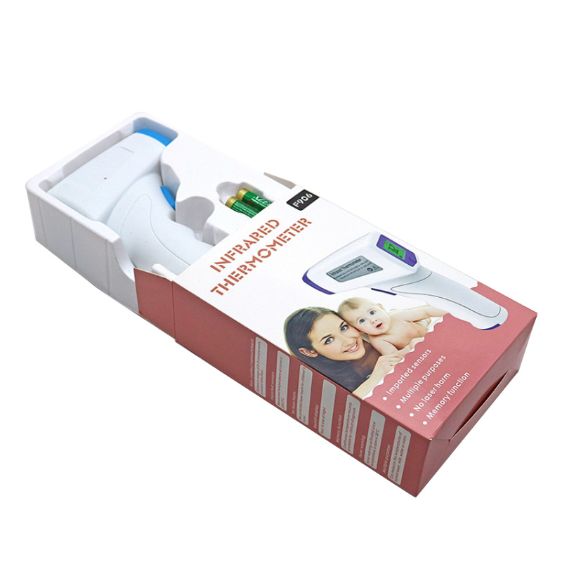 Hot Sale Infrared Forehead Digital Thermometer Gun Paper Box