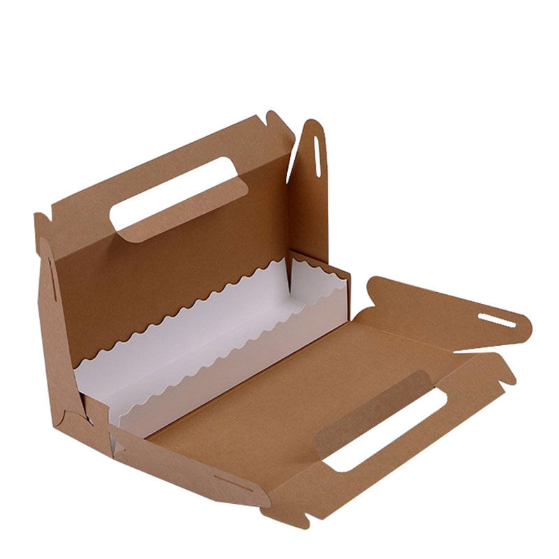 Recyclable Kraft Take Away Fast Food Lunch Sushi Packaging Box