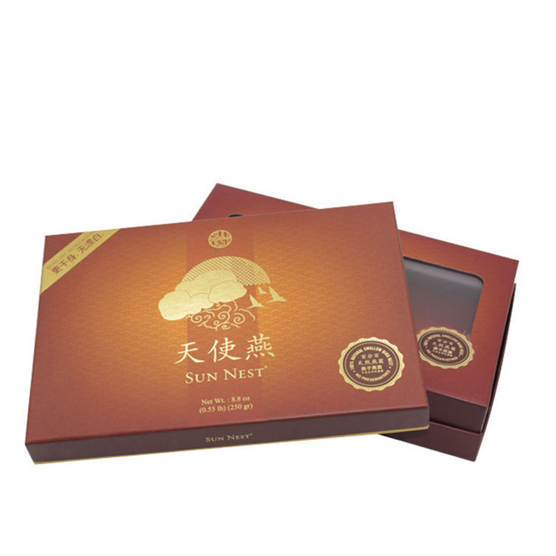 China Food Grade Edible Bird Nest Gift Packaging Box
