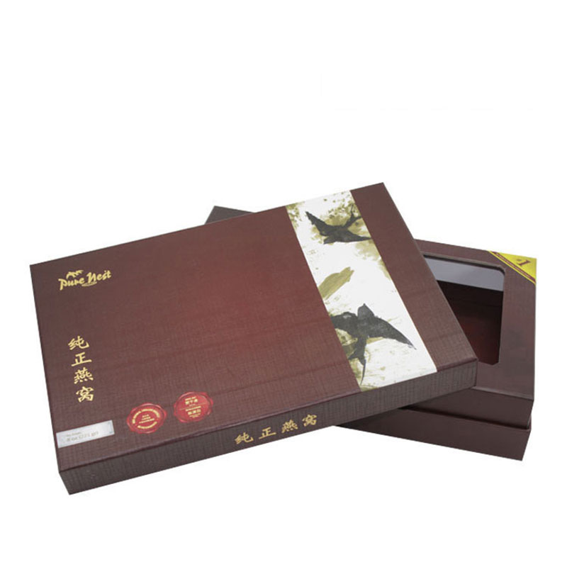 Chinese Custom Unique Edible Bird's Nest Food Packaging Box