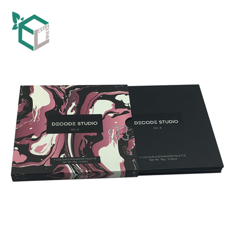 Custom Design Cosmetic Makeup Gift Box Eyeshadow Palette Packaging