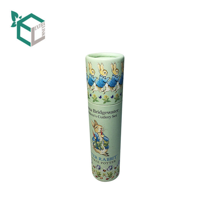 Custom Design Quality Paper Tube Round Lipstick Gift Box