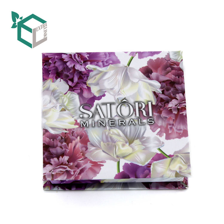 Customized Printed Eyeshadow Palette Packaging With Matt Lamination