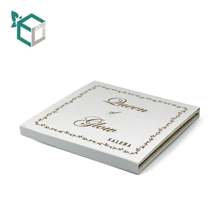 Factory Wholesale Gold Foil Stamping Eyeshadow Palette Packaging