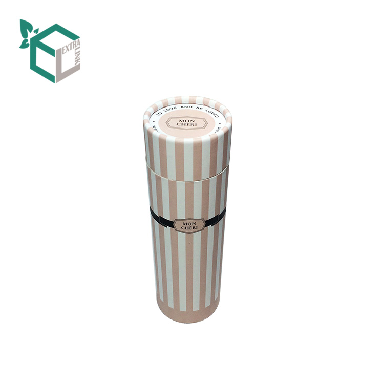 High End Custom Round Paper Tube Lipstick Packaging Box
