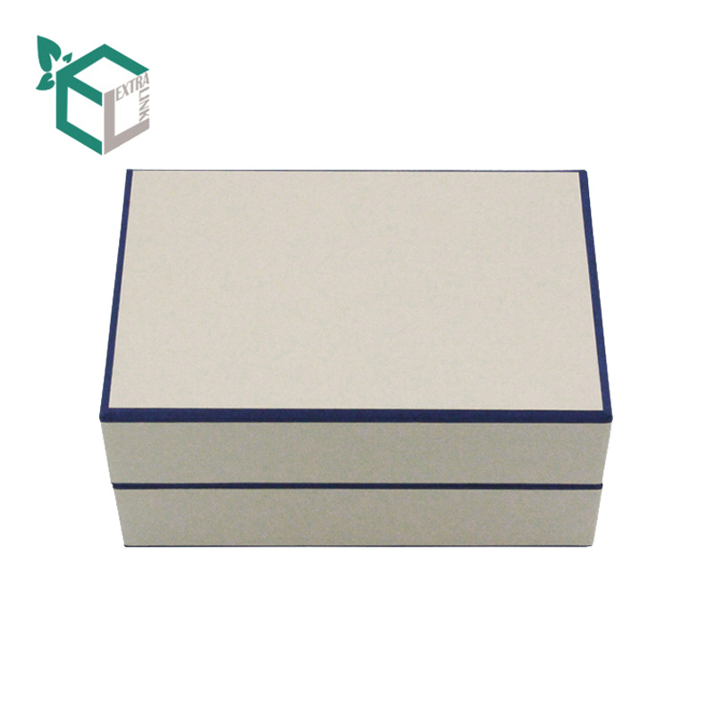 High Quality White Cardboard Box Fancy Paper Socks Packaging Box