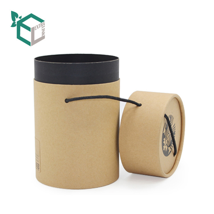 Custom Logo Eco Friendly Kraft Candle Box Packaging