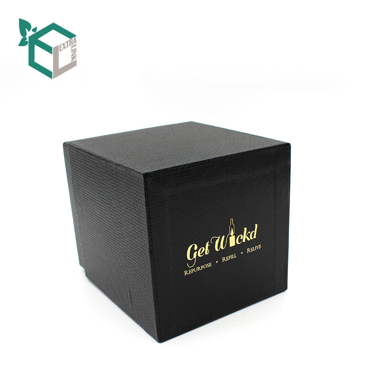 High End Cardboard Packaging Luxury Candle Gift Box