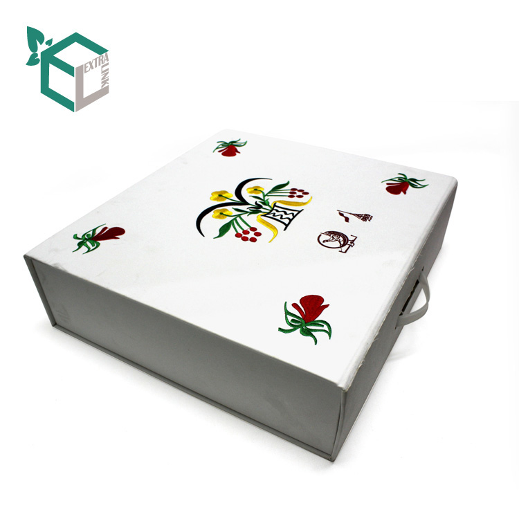 Custom Luxury Shoe Packaging Box Wholesale White Foldable Cardboard Gift Boxes