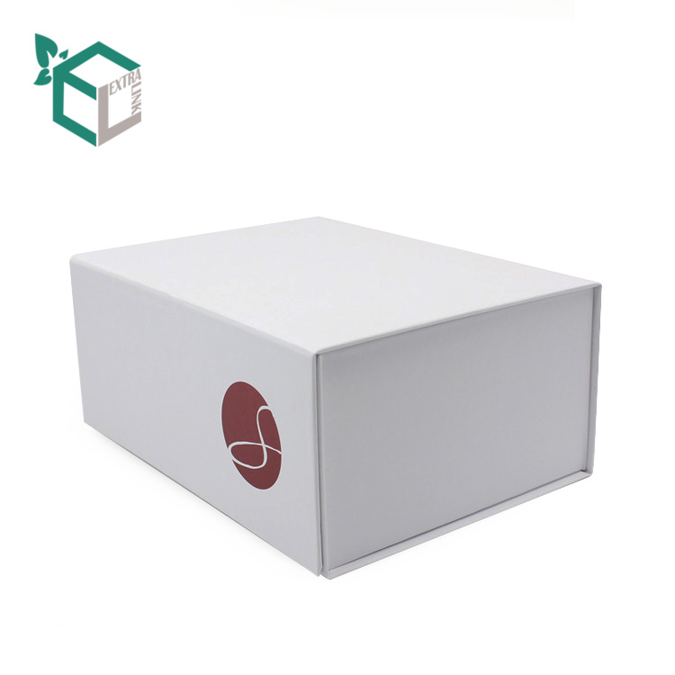 Luxury Design Custom Logo Box For Apparel Packaging Magnetic Foldable Box