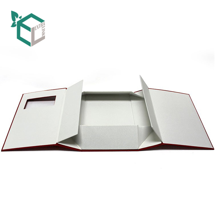 Custom Magnetic Book Shaped Box Foldable Gift Box For Wine