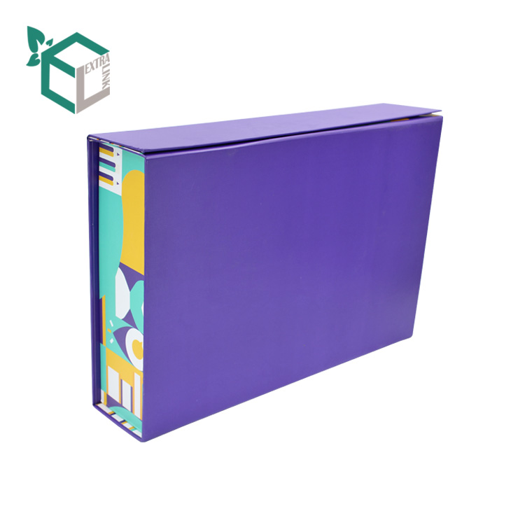 High Quality Custom Foldable Collapsible Cardboard Packaging Box With Eva Inserts