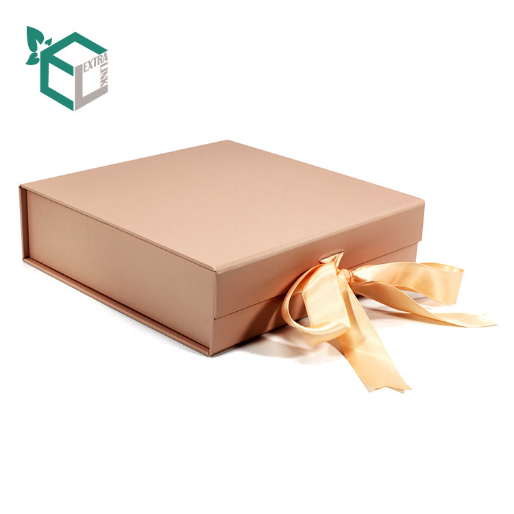 Luxury Paper Gift Packaging Underwear Storage Box Foldable