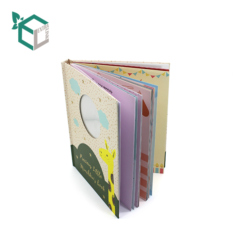 Factory Price Customized Design Short Story Paper Baby Book