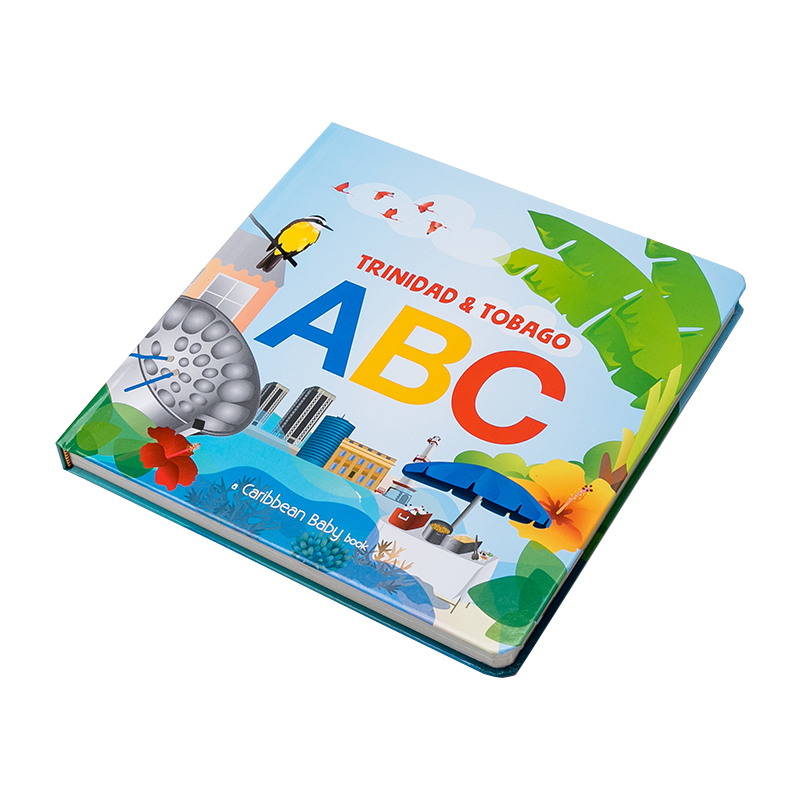 Custom Printing Thick Card Board Children's Book Baby Board Books