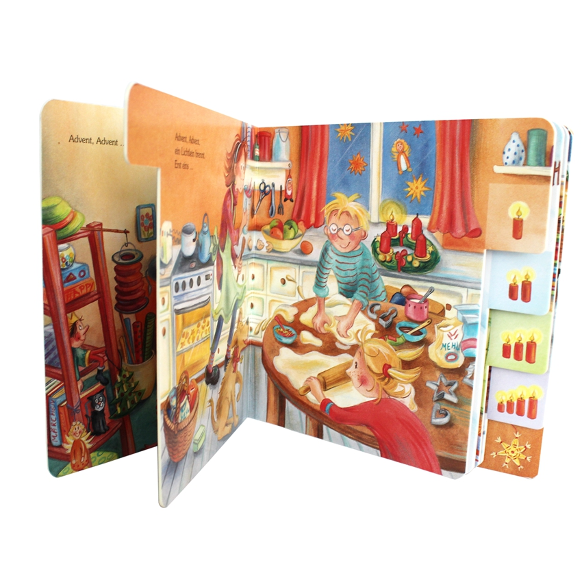 High Quality Coloring Board Short Story Baby Memory Book