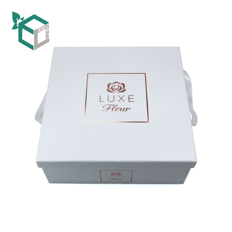 China Supplier Luxury Flower Box With Ribbon