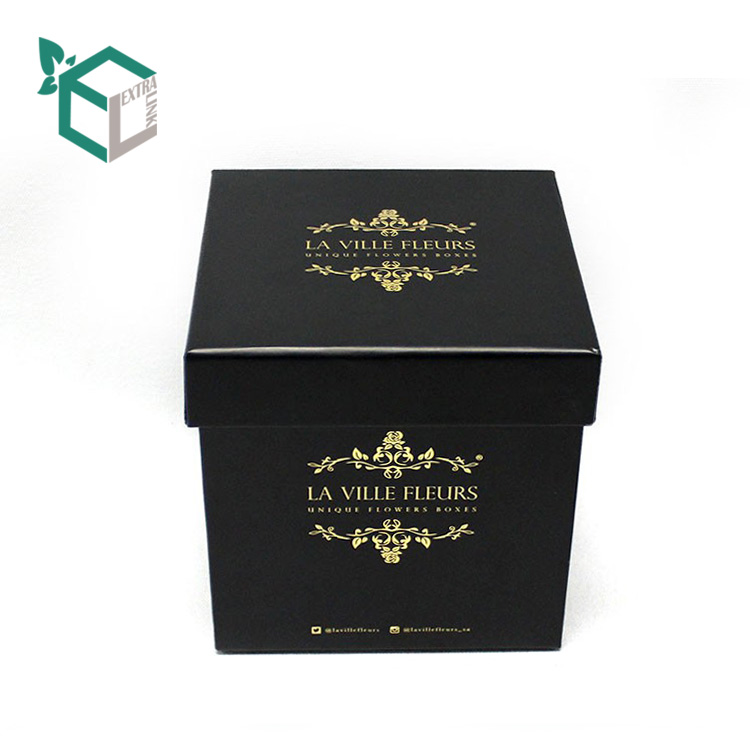 Custom Size Flower Packaging Box With Brand Logo
