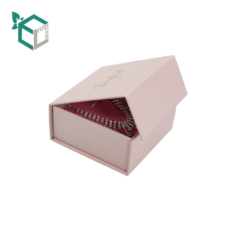 High Quality Cardboard Custom Necklace Box With Insert