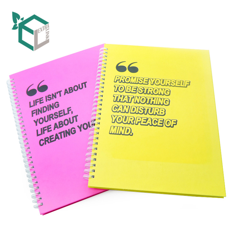 Customized Notebook Printing Cheap Wholesale Oem Daily Plan Notebook Printing