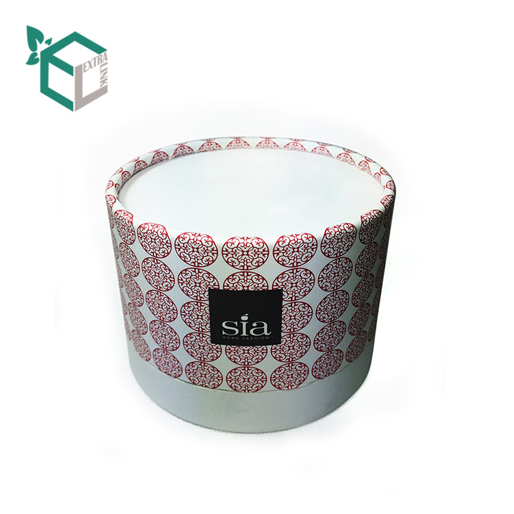 Recycled Material Custom Scented Candle Paper Tube Packaging