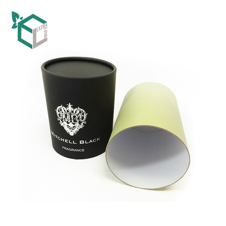 High Quality Fancy Star Shiny Paper Candle Tube Box