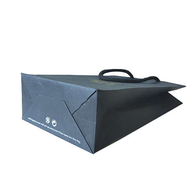 Uncoated Paper Bag With Custom Logo Shopping Bag For Gift