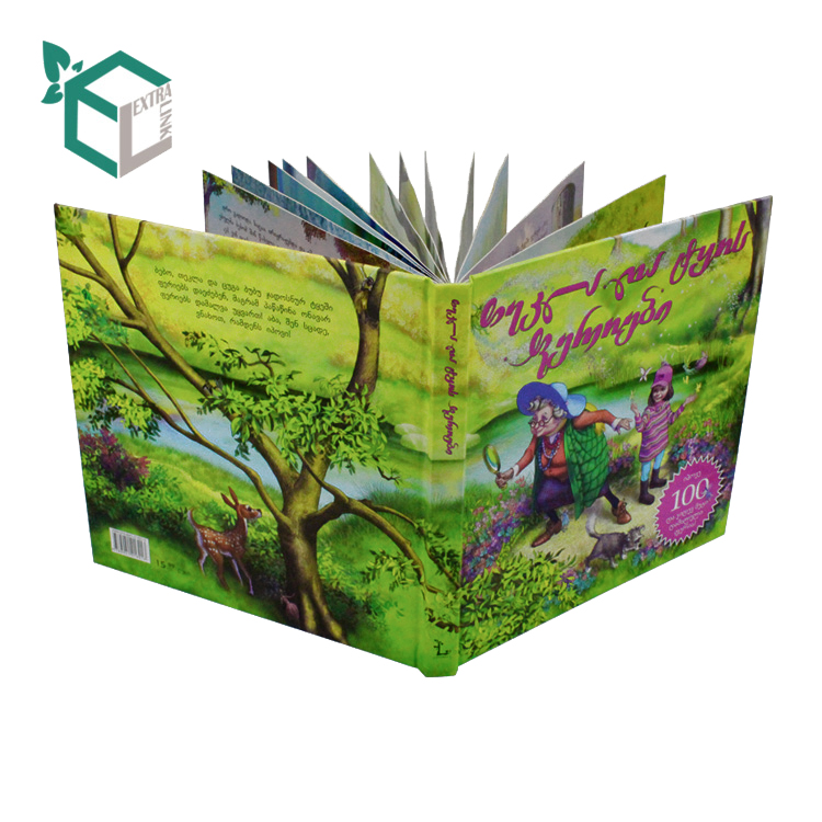 Custom Eco Friendly A3 Hardcover Book Printing