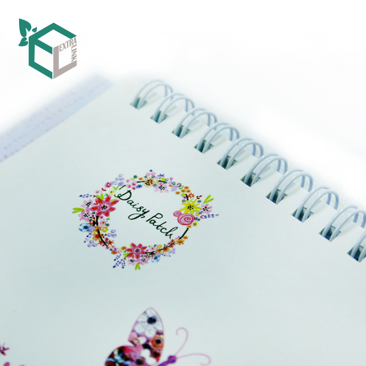 High Quality Customized Spiral Binding Hardcover Book Printing