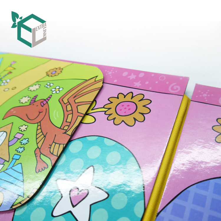 OEM Children Cardboard Book Printing Custom