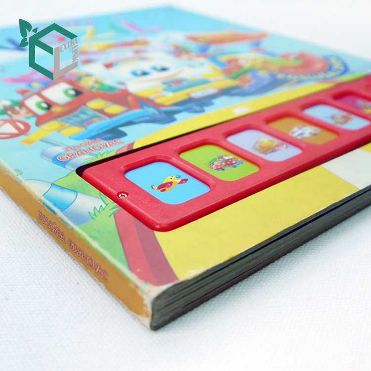 Professional OEM Factory Hard Cover Children Book Printing