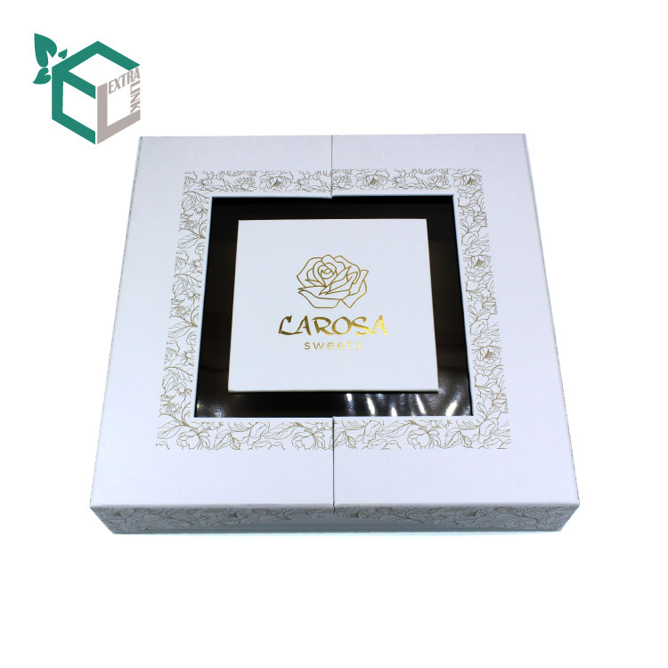 China Supplier Chocolate Box Packing With Pvc Window