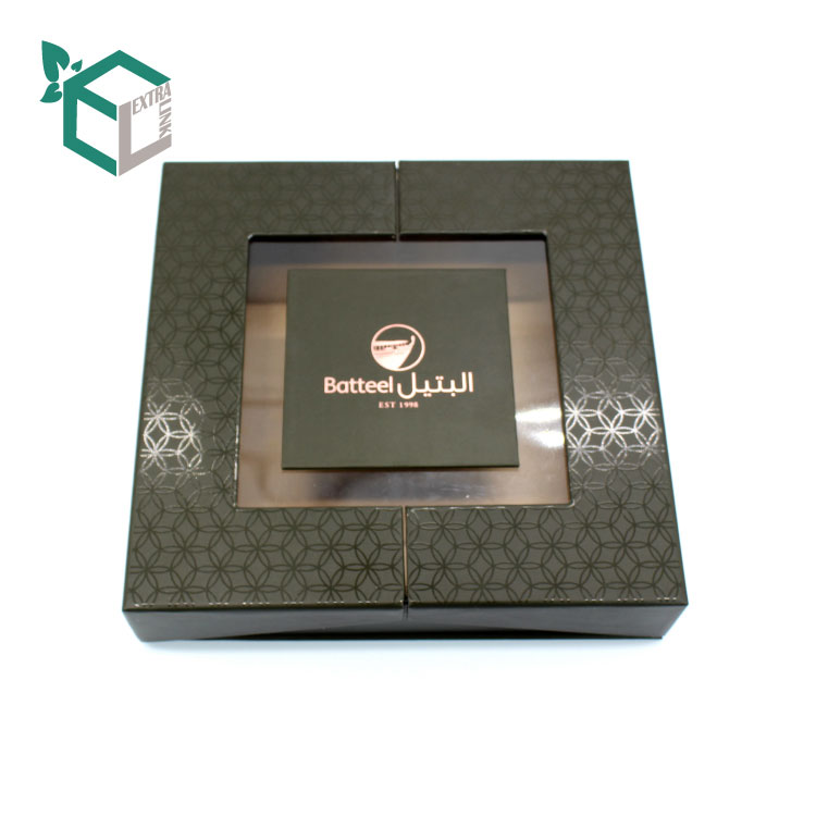 Professional Wedding Chocolate Box With Hot Foil Stamping Logo