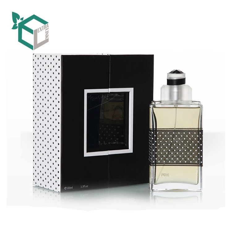 Rigid Paper Perfume Packaging Box With Display Window