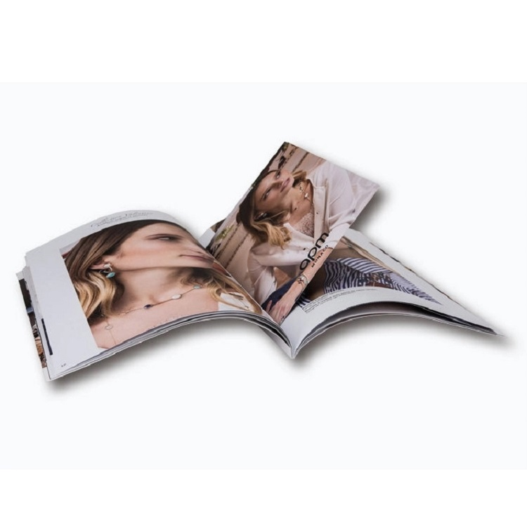 Custom Advertising Flyer Booklet Catalog Brochure Magazine Book Printing